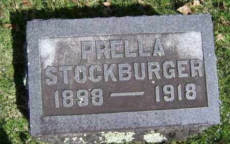 STOCKBURGER, PRELLA - Washington County, Arkansas | PRELLA STOCKBURGER - Arkansas Gravestone Photos
