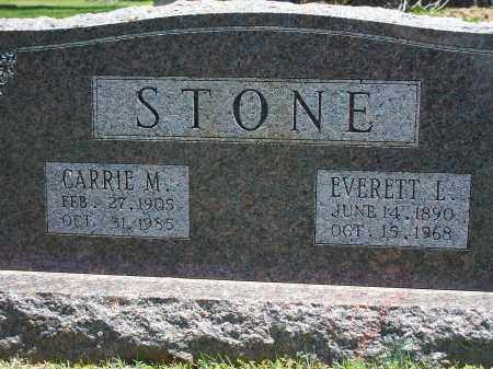 STONE, EVERETT L. - Washington County, Arkansas | EVERETT L. STONE - Arkansas Gravestone Photos