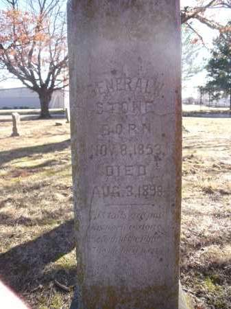 STONE, GENERAL W. - Washington County, Arkansas | GENERAL W. STONE - Arkansas Gravestone Photos