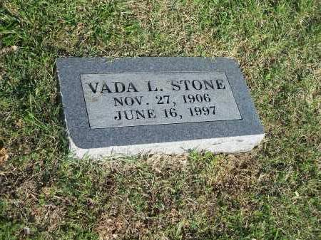 STONE, VADA L. - Washington County, Arkansas | VADA L. STONE - Arkansas Gravestone Photos