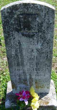 STONESIFER, JOHN - Washington County, Arkansas | JOHN STONESIFER - Arkansas Gravestone Photos