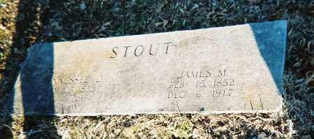 STOUT, JAMES M. - Washington County, Arkansas | JAMES M. STOUT - Arkansas Gravestone Photos