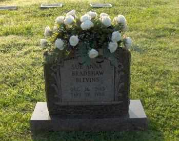 BRADSHAW SUE ANNA, BLEVINS - Washington County, Arkansas | BLEVINS BRADSHAW SUE ANNA - Arkansas Gravestone Photos