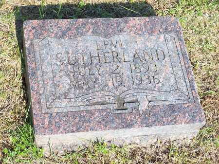 SUTHERLAND, LEVI - Washington County, Arkansas | LEVI SUTHERLAND - Arkansas Gravestone Photos