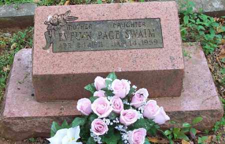 PAGE SWAIM, EVELYN - Washington County, Arkansas | EVELYN PAGE SWAIM - Arkansas Gravestone Photos