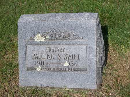 SWIFT, PAULINE S. - Washington County, Arkansas | PAULINE S. SWIFT - Arkansas Gravestone Photos
