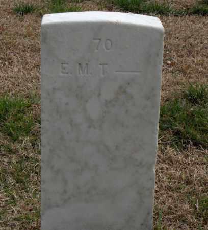 T (VETERAN), E. M. - Washington County, Arkansas | E. M. T (VETERAN) - Arkansas Gravestone Photos