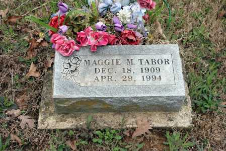 TABOR, MAGGIE M. - Washington County, Arkansas | MAGGIE M. TABOR - Arkansas Gravestone Photos