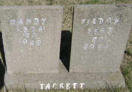 TACKETT, FILDON - Washington County, Arkansas | FILDON TACKETT - Arkansas Gravestone Photos