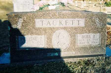 TACKETT (VETERAN WWII), REV. OTHA FARRIS - Washington County, Arkansas | REV. OTHA FARRIS TACKETT (VETERAN WWII) - Arkansas Gravestone Photos