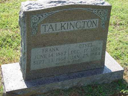 TALKINGTON, FRANK - Washington County, Arkansas | FRANK TALKINGTON - Arkansas Gravestone Photos
