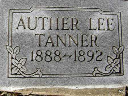TANNER, AUTHER LEE - Washington County, Arkansas | AUTHER LEE TANNER - Arkansas Gravestone Photos