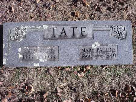 TATE, MARY PAULINE - Washington County, Arkansas | MARY PAULINE TATE - Arkansas Gravestone Photos