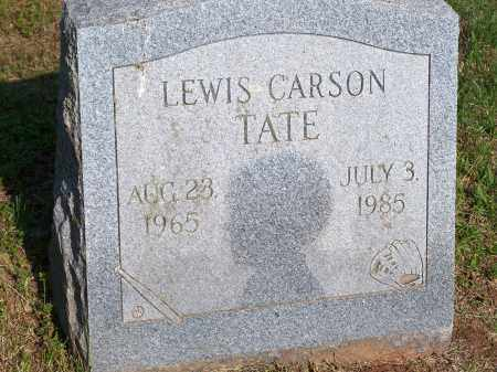 TATE, LEWIS CARSON - Washington County, Arkansas | LEWIS CARSON TATE - Arkansas Gravestone Photos