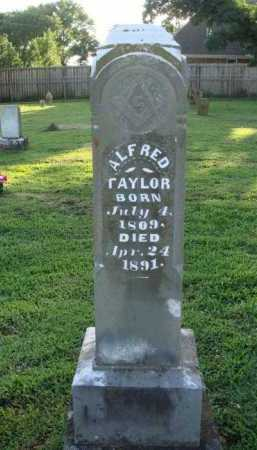 TAYLOR, ALFRED - Washington County, Arkansas | ALFRED TAYLOR - Arkansas Gravestone Photos