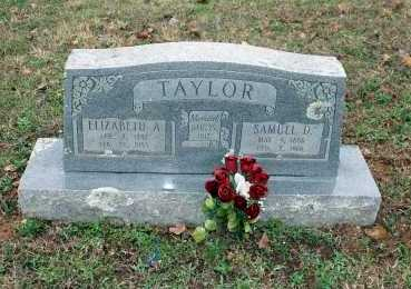 TAYLOR, SAMUEL D. - Washington County, Arkansas | SAMUEL D. TAYLOR - Arkansas Gravestone Photos