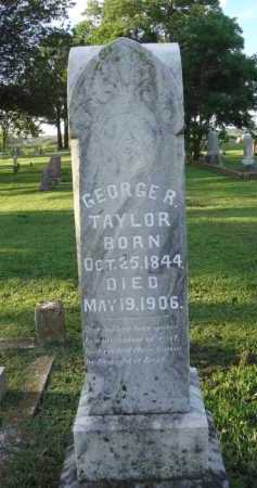 TAYLOR, GEORGE R. - Washington County, Arkansas | GEORGE R. TAYLOR - Arkansas Gravestone Photos