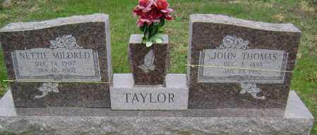 TAYLOR, NETTIE MILDRED - Washington County, Arkansas | NETTIE MILDRED TAYLOR - Arkansas Gravestone Photos