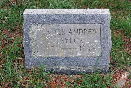 TAYLOR, JAMES ANDREW - Washington County, Arkansas | JAMES ANDREW TAYLOR - Arkansas Gravestone Photos