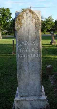TAYLOR, REBECCA G. - Washington County, Arkansas | REBECCA G. TAYLOR - Arkansas Gravestone Photos