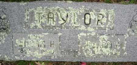 TAYLOR, WILLIAM C. - Washington County, Arkansas | WILLIAM C. TAYLOR - Arkansas Gravestone Photos