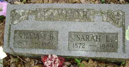 TAYLOR, SARAH L. - Washington County, Arkansas | SARAH L. TAYLOR - Arkansas Gravestone Photos