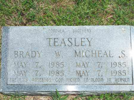 TEASLEY, BRADY W. - Washington County, Arkansas | BRADY W. TEASLEY - Arkansas Gravestone Photos