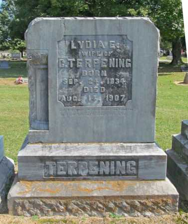 TERPENING, LYDIA E. - Washington County, Arkansas | LYDIA E. TERPENING - Arkansas Gravestone Photos