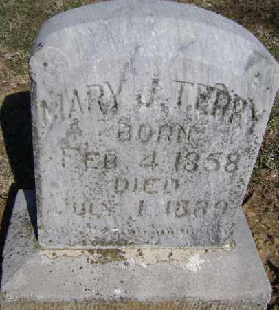 TERRY, MARY J. - Washington County, Arkansas | MARY J. TERRY - Arkansas Gravestone Photos