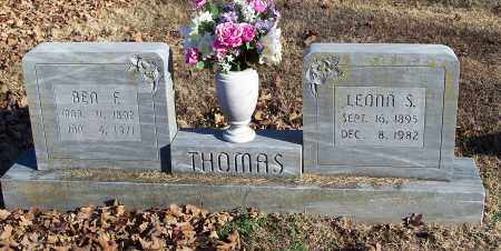 THOMAS, BEN F. - Washington County, Arkansas | BEN F. THOMAS - Arkansas Gravestone Photos