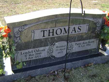 THOMAS, LENDEL ODEAN - Washington County, Arkansas | LENDEL ODEAN THOMAS - Arkansas Gravestone Photos