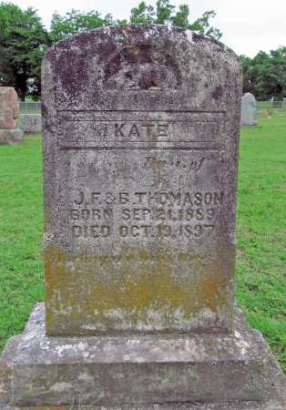 THOMASON, KATE - Washington County, Arkansas | KATE THOMASON - Arkansas Gravestone Photos