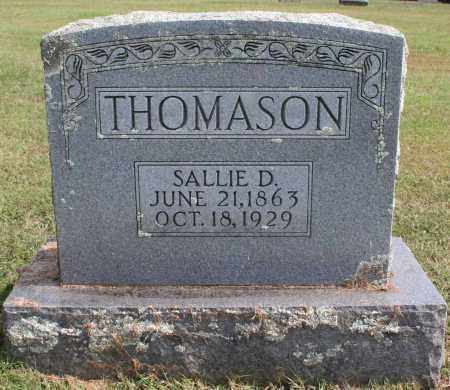 THOMASON, SALLIE D. - Washington County, Arkansas | SALLIE D. THOMASON - Arkansas Gravestone Photos