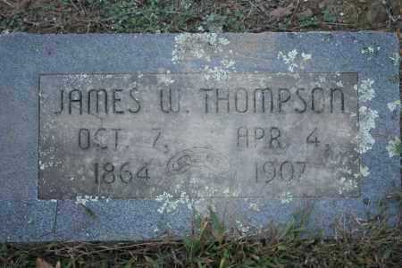 THOMPSON, JAMES W. - Washington County, Arkansas | JAMES W. THOMPSON - Arkansas Gravestone Photos