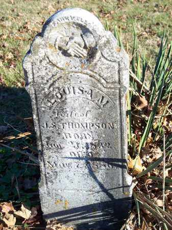 THOMPSON, LOUISA M. - Washington County, Arkansas | LOUISA M. THOMPSON - Arkansas Gravestone Photos