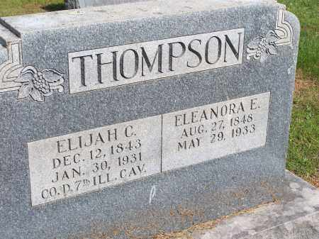 THOMPSON, ELEANORA E. - Washington County, Arkansas | ELEANORA E. THOMPSON - Arkansas Gravestone Photos