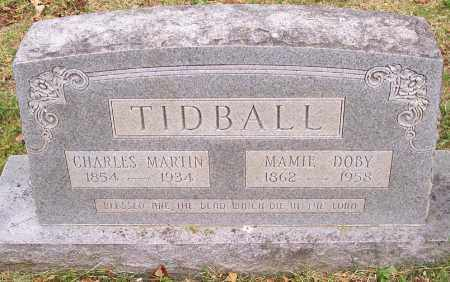 TIDBALL, CHARLES MARTIN - Washington County, Arkansas | CHARLES MARTIN TIDBALL - Arkansas Gravestone Photos