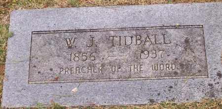TIDBALL, W J - Washington County, Arkansas | W J TIDBALL - Arkansas Gravestone Photos