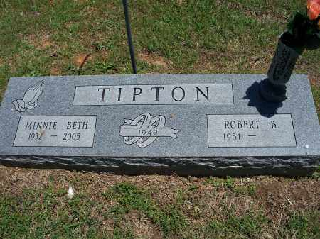 TIPTON, MINNIE BETH - Washington County, Arkansas | MINNIE BETH TIPTON - Arkansas Gravestone Photos