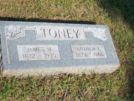 TONEY, ANTHEM E. - Washington County, Arkansas | ANTHEM E. TONEY - Arkansas Gravestone Photos