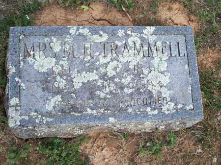TRAMMELL, MRS. M. H. - Washington County, Arkansas | MRS. M. H. TRAMMELL - Arkansas Gravestone Photos