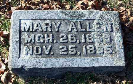 ALLEN, MARY - Washington County, Arkansas | MARY ALLEN - Arkansas Gravestone Photos