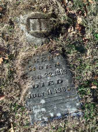TRENT, MRS. SALLIE - Washington County, Arkansas | MRS. SALLIE TRENT - Arkansas Gravestone Photos