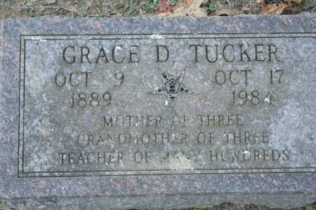 TUCKER, GRACE D. - Washington County, Arkansas | GRACE D. TUCKER - Arkansas Gravestone Photos