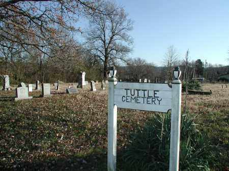 *TUTTLE CEMETERY OVERVIEW,  - Washington County, Arkansas |  *TUTTLE CEMETERY OVERVIEW - Arkansas Gravestone Photos