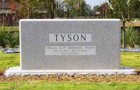 TYSON, TWILA JEAN - Washington County, Arkansas | TWILA JEAN TYSON - Arkansas Gravestone Photos