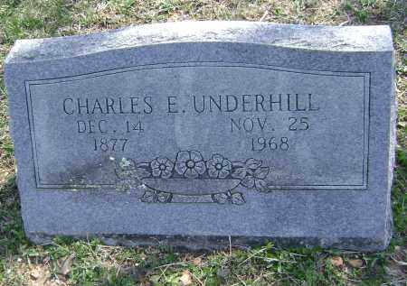 UNDERHILL, CHARLES E. - Washington County, Arkansas | CHARLES E. UNDERHILL - Arkansas Gravestone Photos