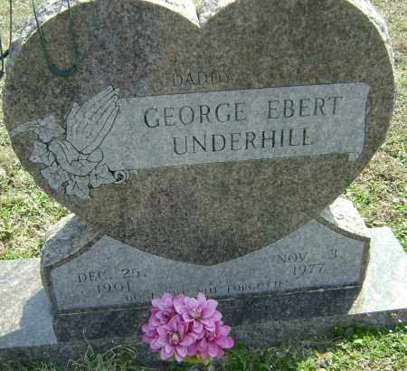 UNDERHILL, GEORGE EBERT - Washington County, Arkansas | GEORGE EBERT UNDERHILL - Arkansas Gravestone Photos