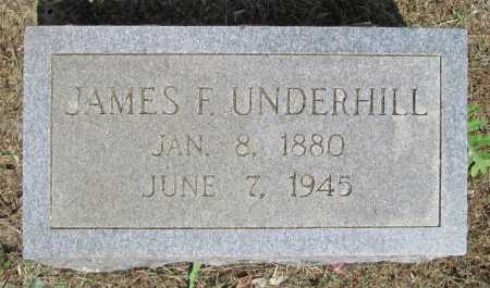 UNDERHILL, JAMES F - Washington County, Arkansas | JAMES F UNDERHILL - Arkansas Gravestone Photos
