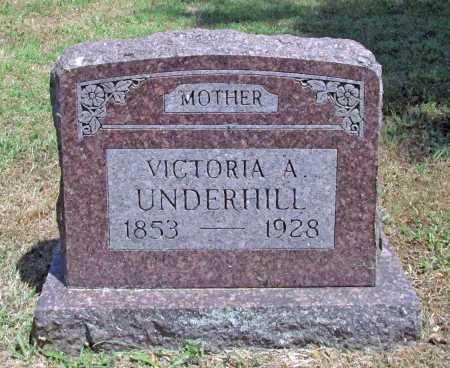 UNDERHILL, VICTORIA A - Washington County, Arkansas | VICTORIA A UNDERHILL - Arkansas Gravestone Photos
